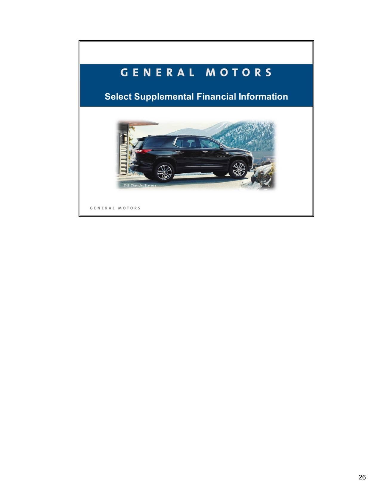 General Motors Company 2017 Q1 Results Earnings Call